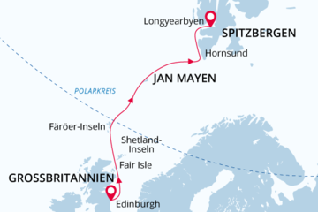 map UK JanMayen Spitsbergen DE
